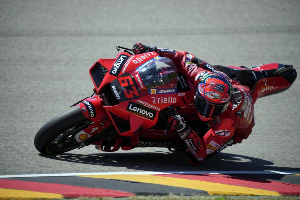 """MotoGP   GP Germania Day 1: Francesco Bagnaia, """"Non sono preoccupato"""""""