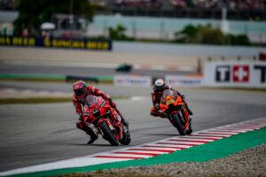 "MotoGP | GP Barcellona Gara: Francesco Bagnaia, ""Scelta di gomme errata"""