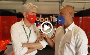"""MotoGP   Dall'Igna (Ducati): """"Puntiamo in alto anche in Germania e Olanda"""" [VIDEO]"""