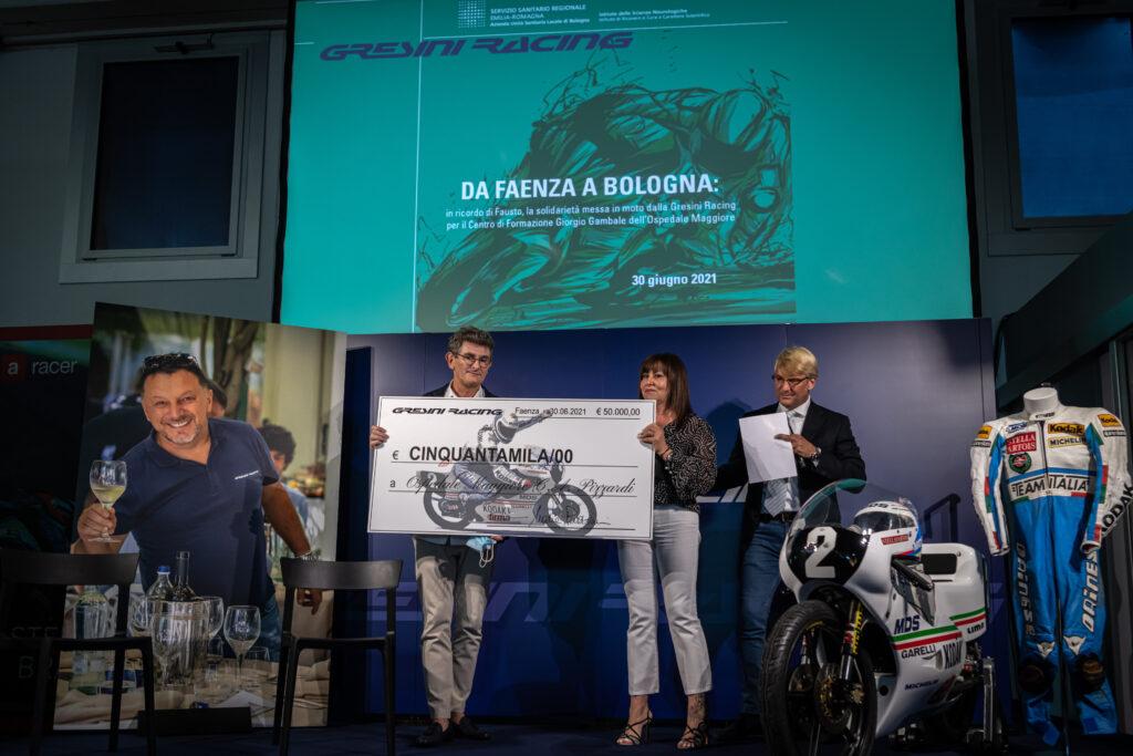 MotoGP | Gresini Racing dona tre simulatori all'USL di Bologna