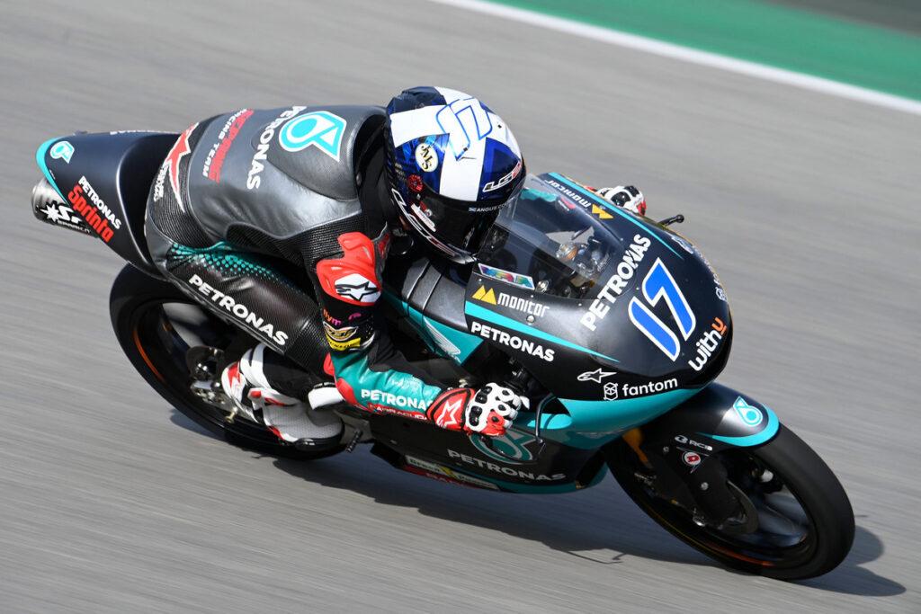 Moto3   Gp Barcellona Warm Up: McPhee al comando, Fenati è settimo