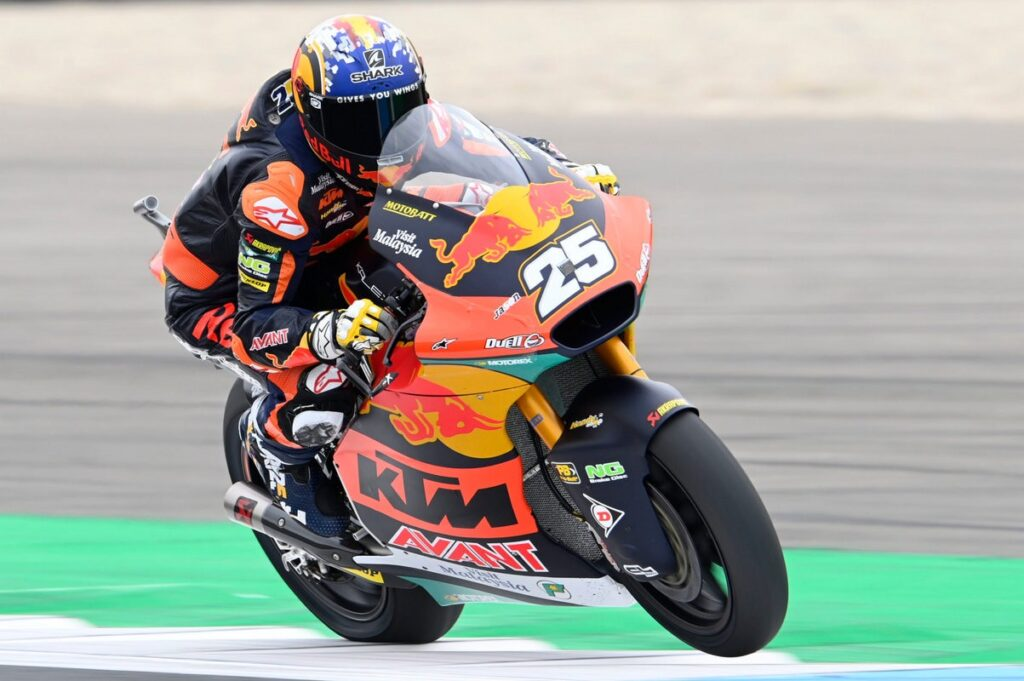 Moto2   Gp Assen Qualifiche: Ancora doppietta del team Ajo con Fernandez e Gardner
