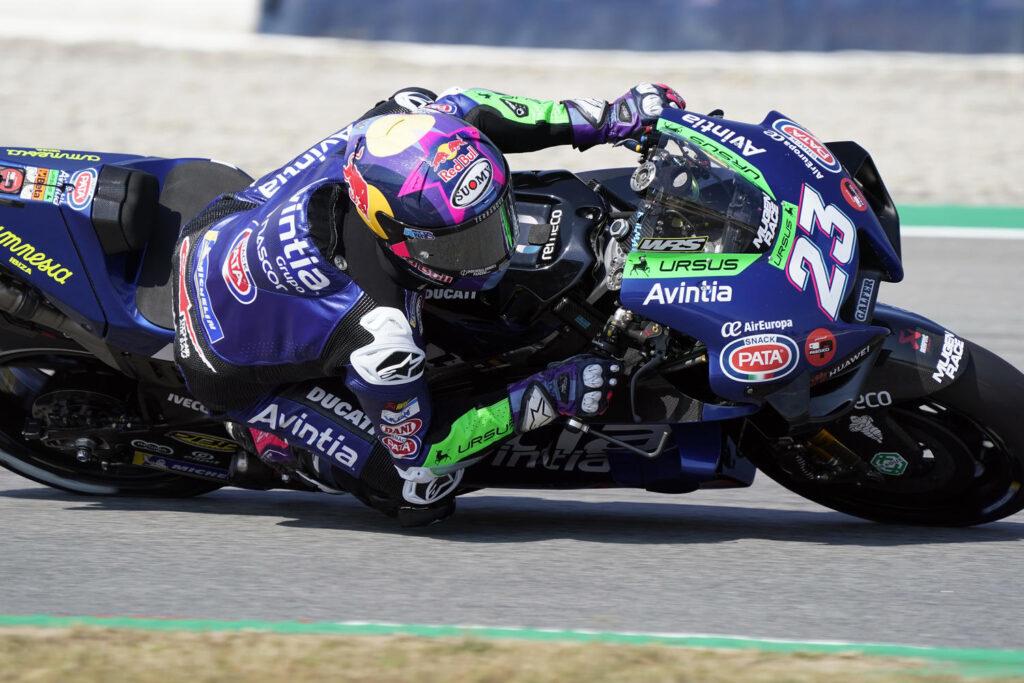 "MotoGP   GP Barcellona Gara: Bastianini, ""Contento a metà"""