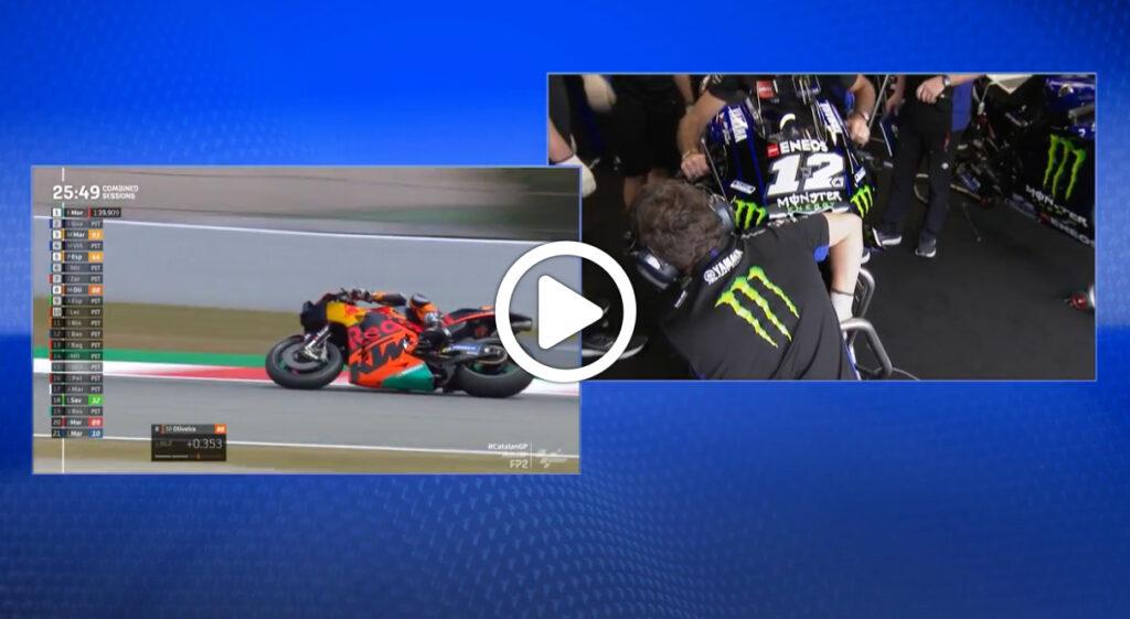 MotoGP | Yamaha, nuovo parafango a Barcellona: tutti i dettagli [VIDEO]