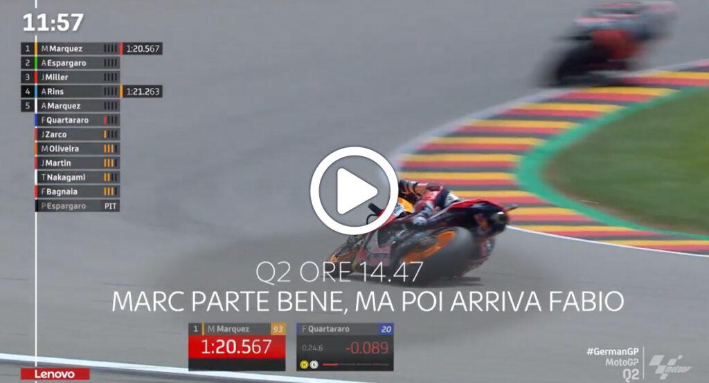 MotoGP | GP Germania, gli highlights delle qualifiche al Sachsenring [VIDEO]