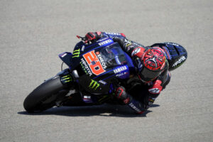 """MotoGP   GP Germania Day 1: Quartararo, """"Non mi sento bene con la moto come al solito"""""""