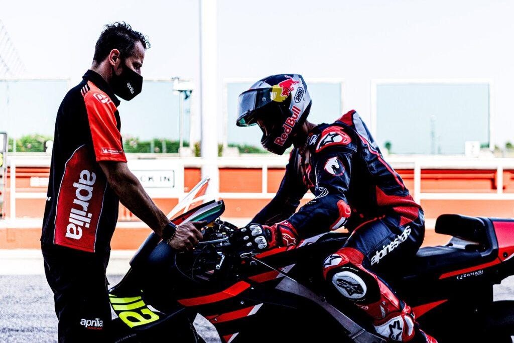 """MotoGP   Dovizioso test Aprilia: """"E' stato molto interessante"""""""