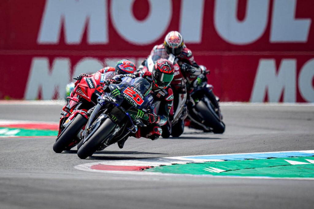 MotoGP | Gp Assen: Quartararo batte Vinales, Mir sul podio [FOTOGALLERY]