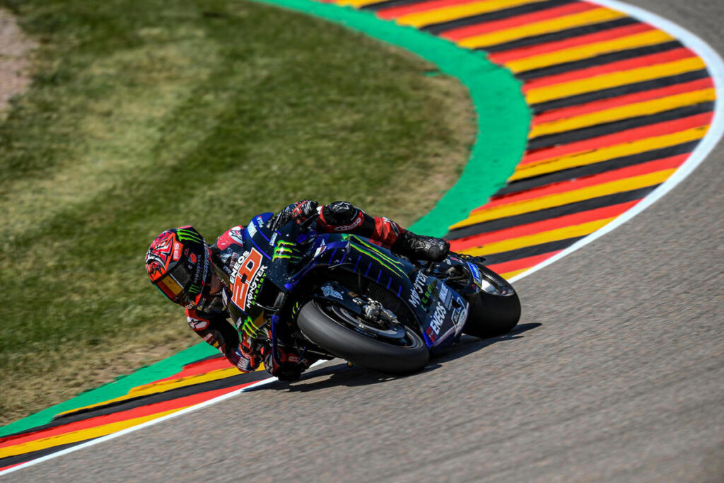 MotoGP | Gp Germania FP3: Quartararo il migliore, Rossi 16esimo
