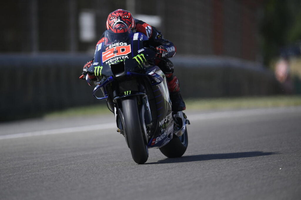 MotoGP   Gp Germania Warm Up: Quartararo in vetta, Rossi è 11esimo