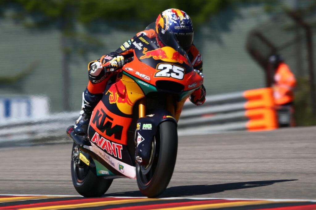 "Moto2   Gp Germania Warm Up: Raul Fernandez al Top, ""Diggia"" è quinto"
