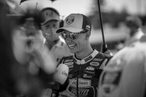 "Jason Dupasquier: Valentino Rossi ""Mi ricordava il mitico Joey Dunlop"""