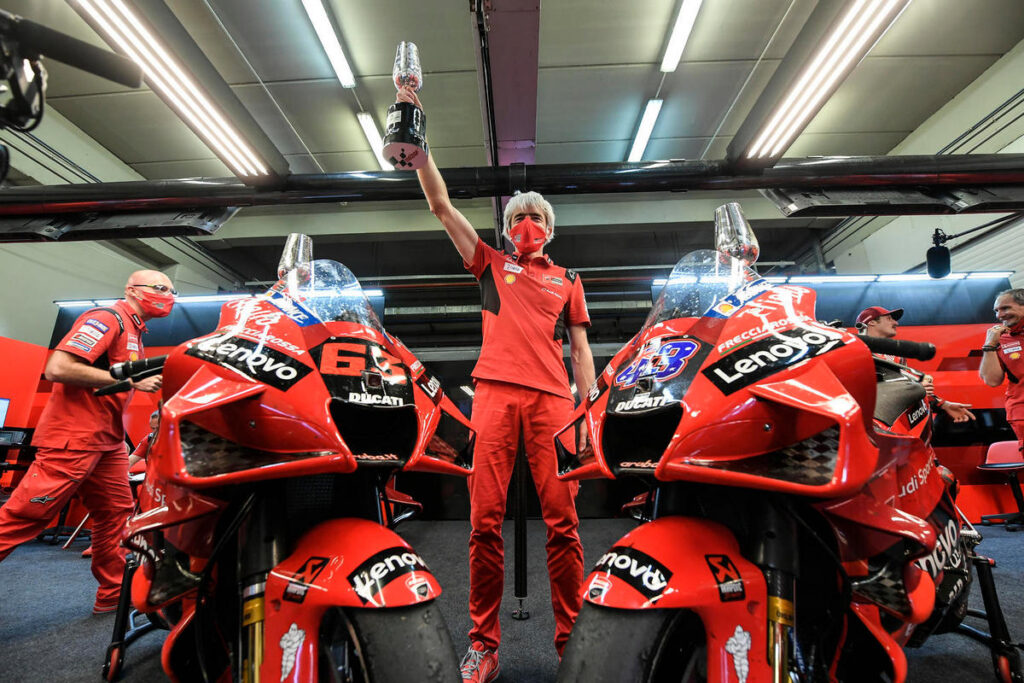 """MotoGP   Dall'Igna (Ducati): """"Importante evolversi costantemente"""""""