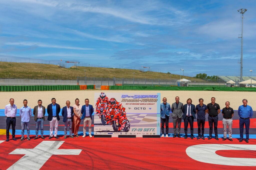 MotoGP | Poster GP Misano 2021: Protagonisti Motor Valley, Riders' Land e Ducati
