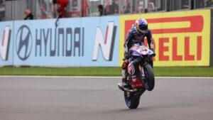 Superbike | Round Donington, Gara2: Razgatlioglu vince e va in testa al Campionato