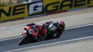 Superbike   Round Navarra, Tissot Superpole Race: vince ancora Redding