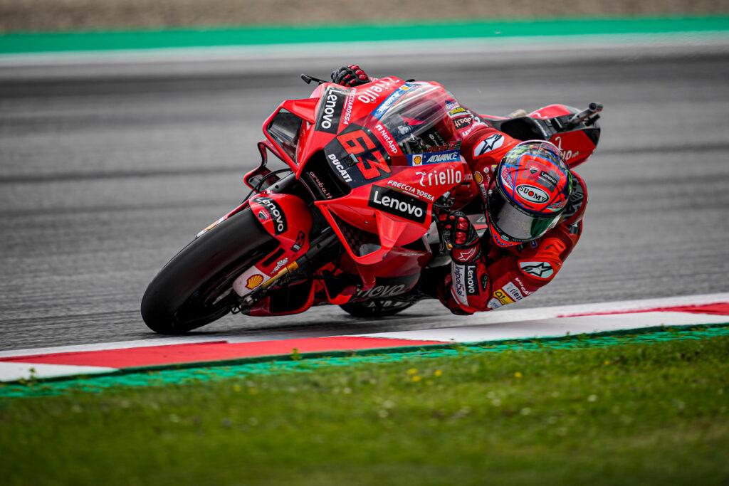 """MotoGP   GP Styria Race : Francesco Bagnaia, """"Nous n'avons pas eu de chance"""""""