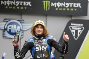 """Moto2   GP Silverstone Gara, Bezzecchi: """"Il team ha lavorato davvero bene"""""""