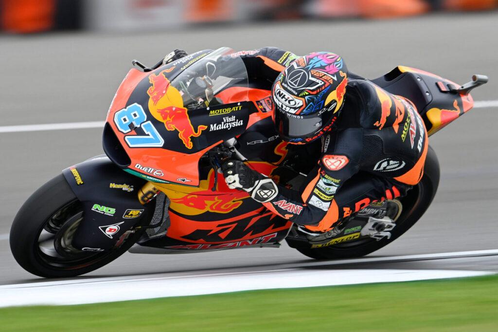 Moto2   Gp Silverstone Warm Up: Gardner precede Bezzecchi