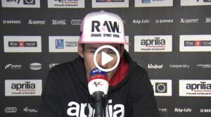 """MotoGP   GP Austria Gara, Aleix Espargarò: """"Vicini al podio"""" [VIDEO]"""
