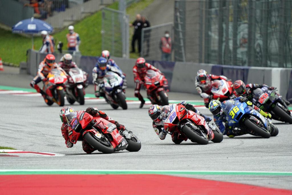 MotoGP    GP Autriche, l'engagement du système de freinage Brembo à Spielberg