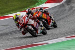Moto3   Gp Austria Gara: Garcia beffa Oncu, Foggia sul podio