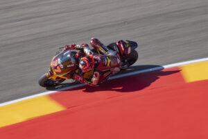 Moto2   Gp Aragon Warm Up: doppietta Marc VDS con Augusto Fernandez e Sam Lowes