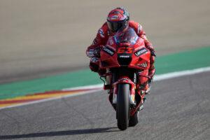 MotoGP   Gp Aragon Qualifiche: dominio Ducati, Bagnaia in pole, Miller 2°