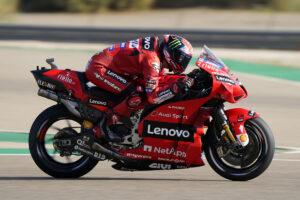 MotoGP | Gp Aragon Warm Up: Bagnaia si conferma al Top, Bastianini è 9°