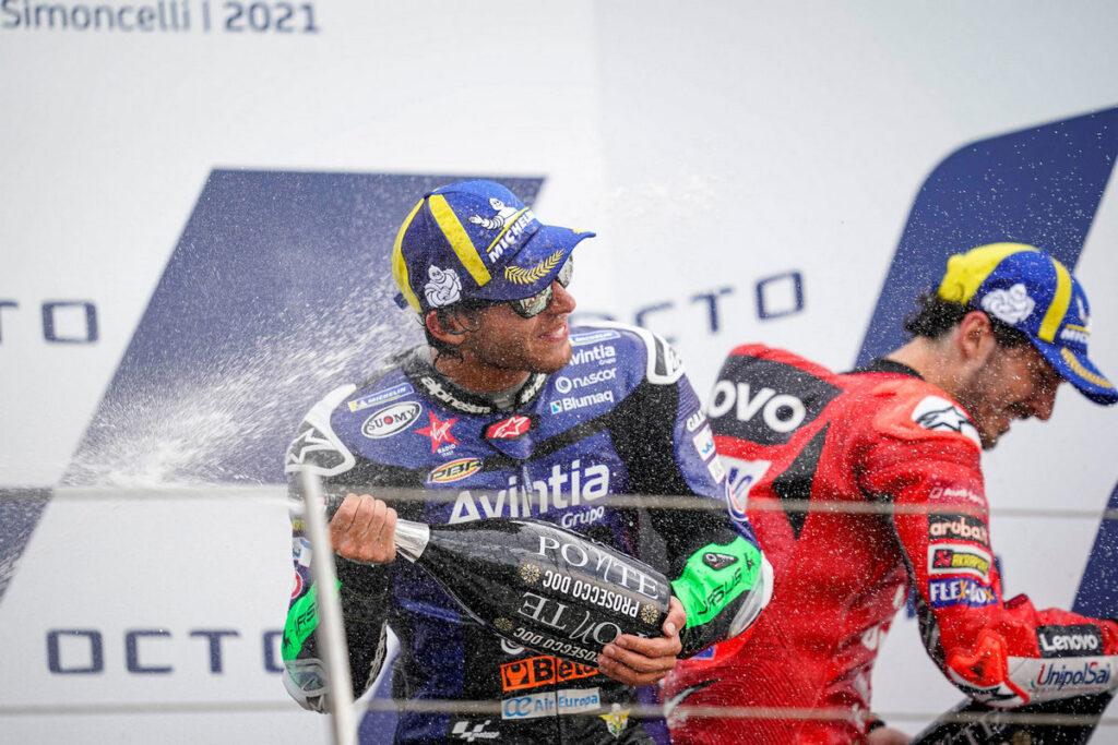 MotoGP | Gp Misano: Bagnaia bissa Aragon, Bastianini, podio da sballo [FOTOGALLERY]