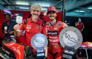 """MotoGP   GP Aragon Gara: Dall'Igna (Ducati) """"Pecco è stato strepitoso"""""""
