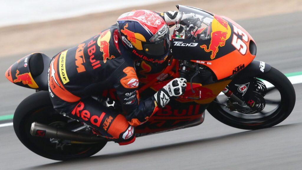 Moto3   Gp Aragon FP2: Öncü è il più veloce, Antonelli è settimo