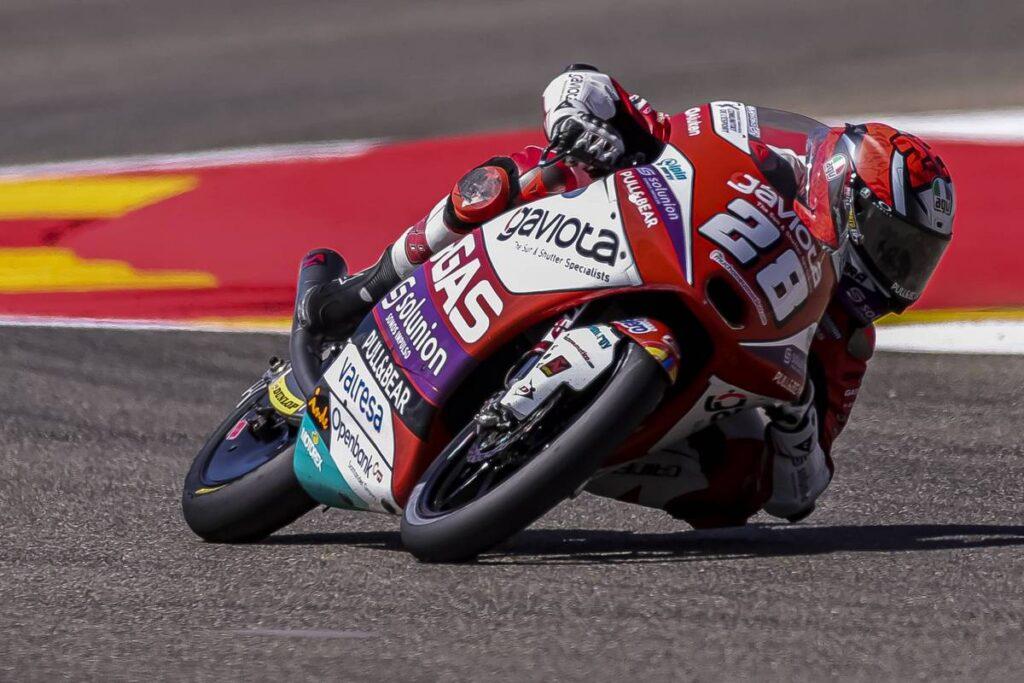Moto3 | Gp Aragon Warm UP: Guevara il più veloce, Antonelli è terzo