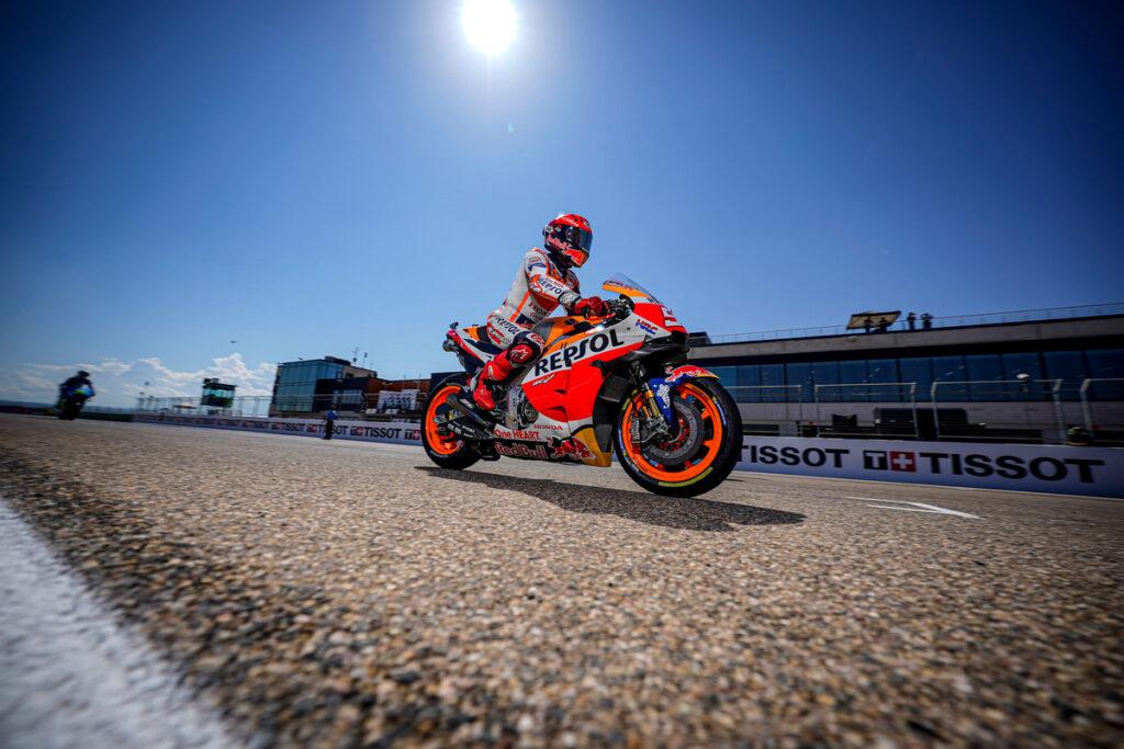 "MotoGP | GP Misano: Marc Marquez, ""Motivazione alta dopo Aragon"""
