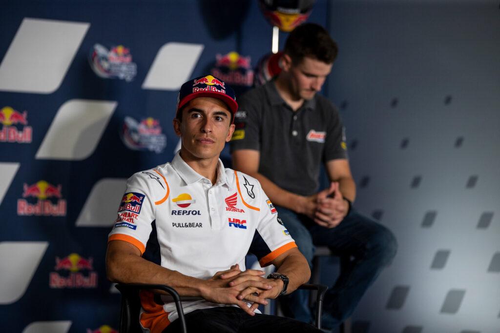 "MotoGP    Scomparsa Dean Berta Viñales: Marc Marquez su Fabrizio, ""Non perdo tempo con certa gente"""