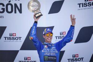 "MotoGP   GP Aragon Gara, Joan Mir: ""Deluso nonostante il podio"""