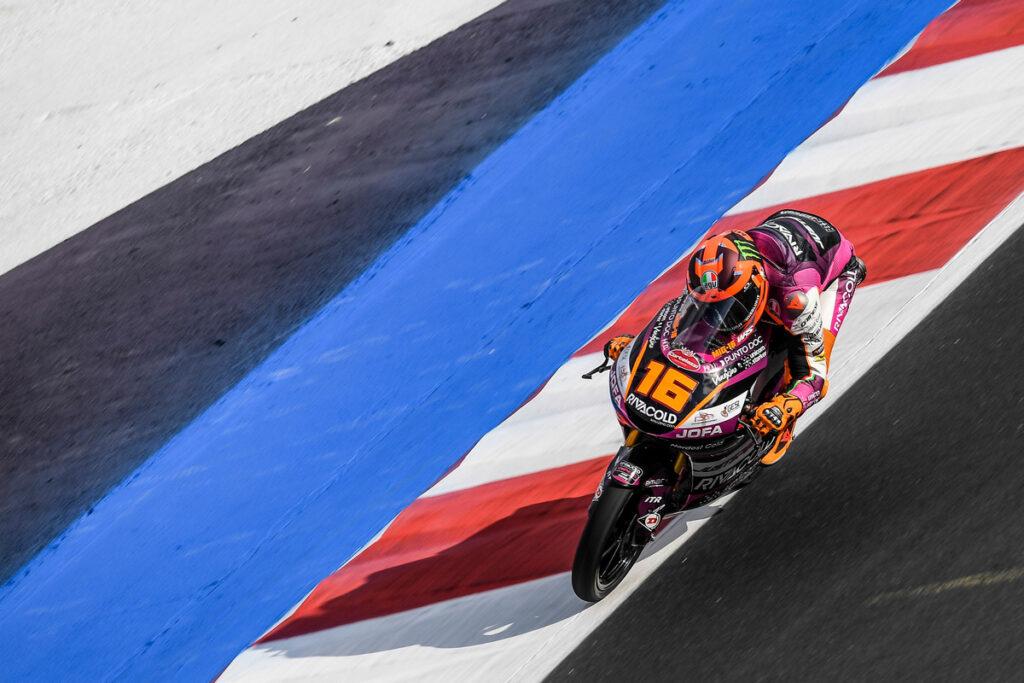 Moto3   Gp Misano FP3: Migno il più veloce, paura per Deniz Öncü e Alberto Surra
