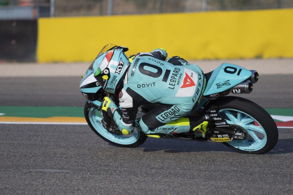 Moto3   Gp Aragon Gara: Foggia show, terza vittoria stagionale