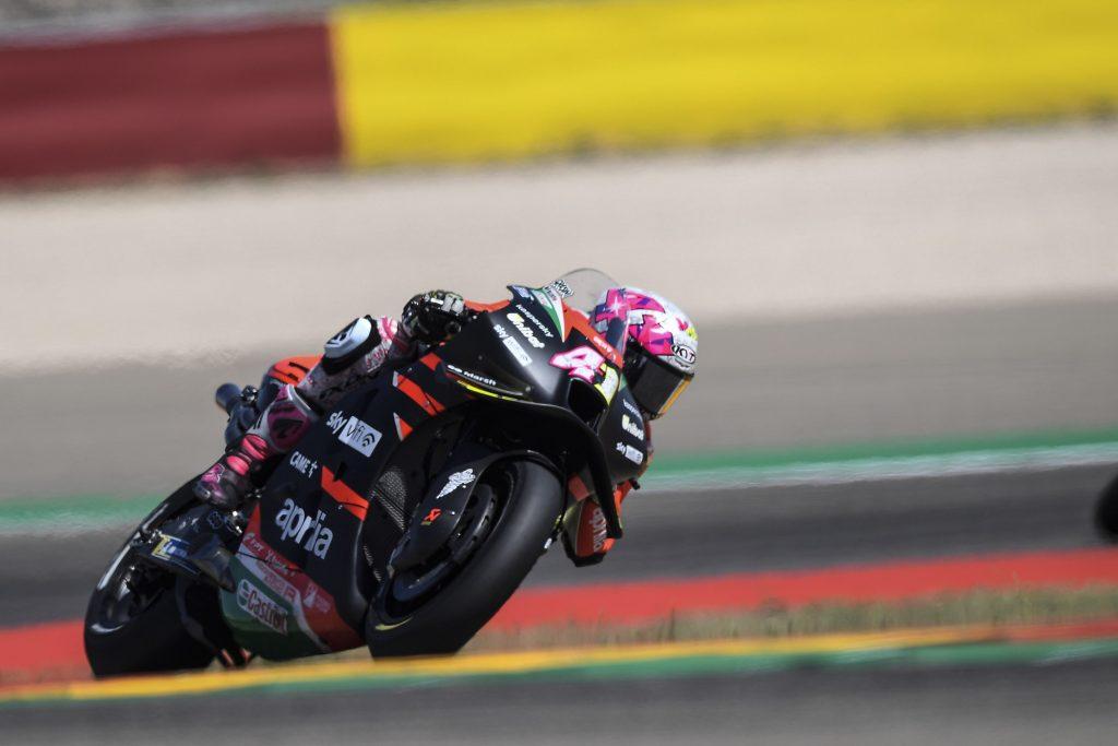 "MotoGP   GP Aragon Gara, Aleix Espargarò: ""Il ritmo è stato stratosferico"""