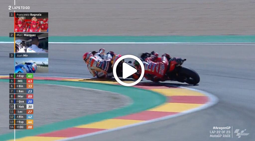 MotoGP | GP Aragon, gli highlights della gara [VIDEO]