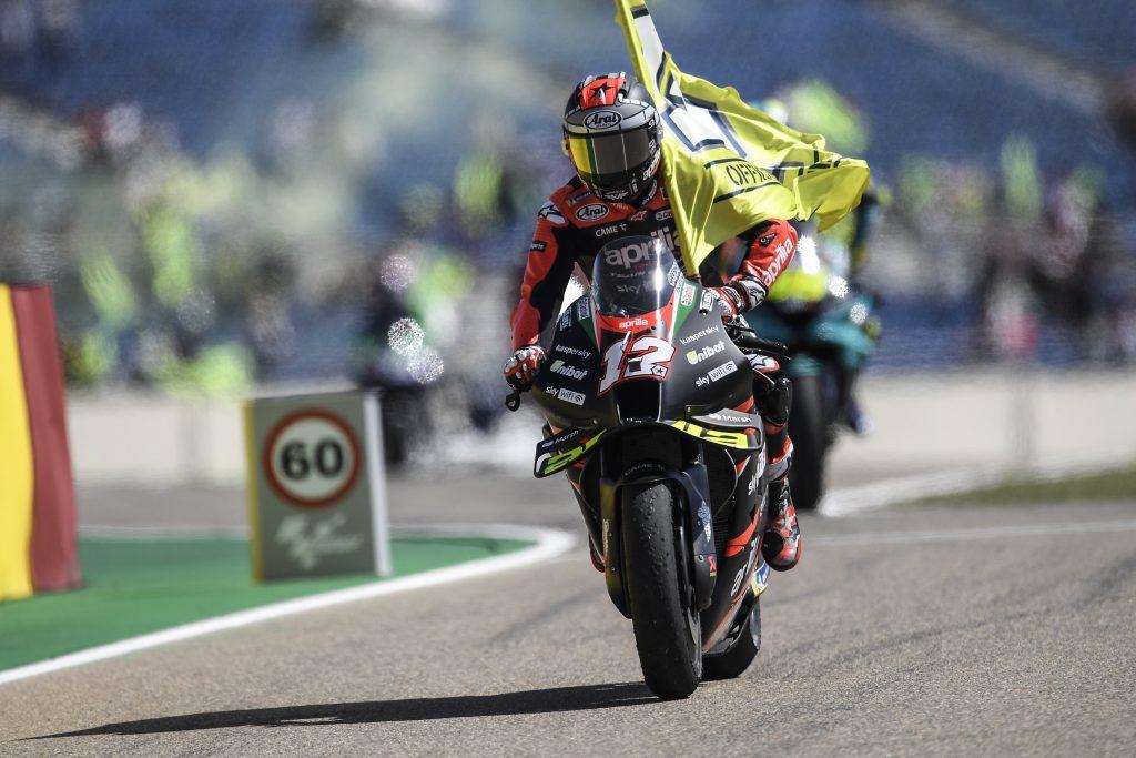 """MotoGP   GP Aragon Gara, Maverick Vinales: """"Soddisfatto del week-end"""""""