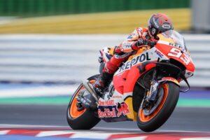 """MotoGP   Test Misano Day 1: Marc Marquez, """"Abbiamo provato molti aggiornamenti"""""""