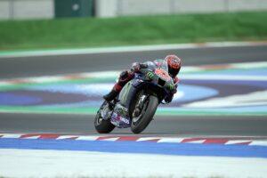 """MotoGP   Test Misano Day 2: Quartararo, """"Sono abbastanza contento"""""""