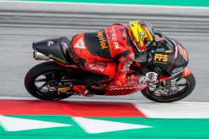 Moto3   Gp Aragon FP1: Rodrigo al comando, Antonelli è terzo
