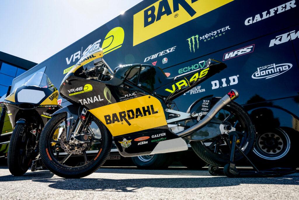 Moto3 | Bardahl VR46 Riders Academy wild card a Misano