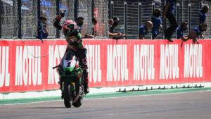 Superbike   Round Portimao, Gara2: Rea riscatta il doppio zero