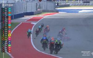 """Paolo Simoncelli su incidente Moto3 Austin: """"Siamo stati fortunati"""""""