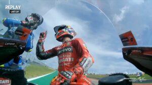 """MotoGP   GP Austin Gara, Miller: """"Complimenti a Pecco per il podio"""""""