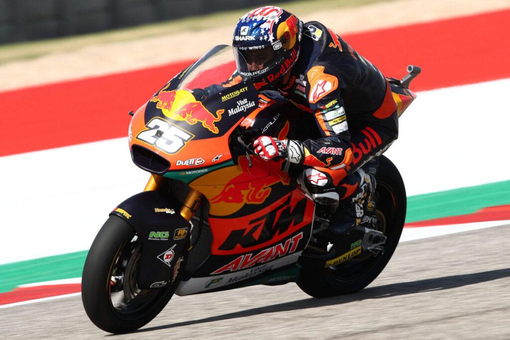 Moto2   Gp Austin Qualifiche: Fernandez in pole, Gardner è secondo