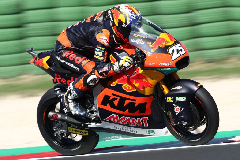Moto2 | Gp Austin FP2: Raul Fernandez si conferma il più veloce, Arbolino ottimo quarto